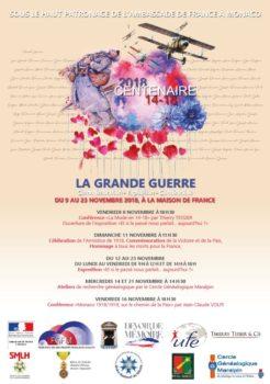 Animation Généalogie Militaire @ Maison de France - Monaco | Monaco