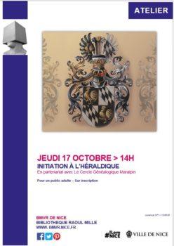 Initiation à l'Héraldique ... @ Bibliothèque Raoul MILLE - NICE | Nice | Provence-Alpes-Côte d'Azur | France
